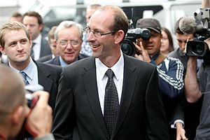 David Bain after he was proven innocent