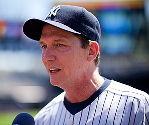 David Cone - Cone at the 2009 Old-Timers' Day
