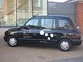David Shrigley exterior on Chelsea cab outside Chelsea space.jpg