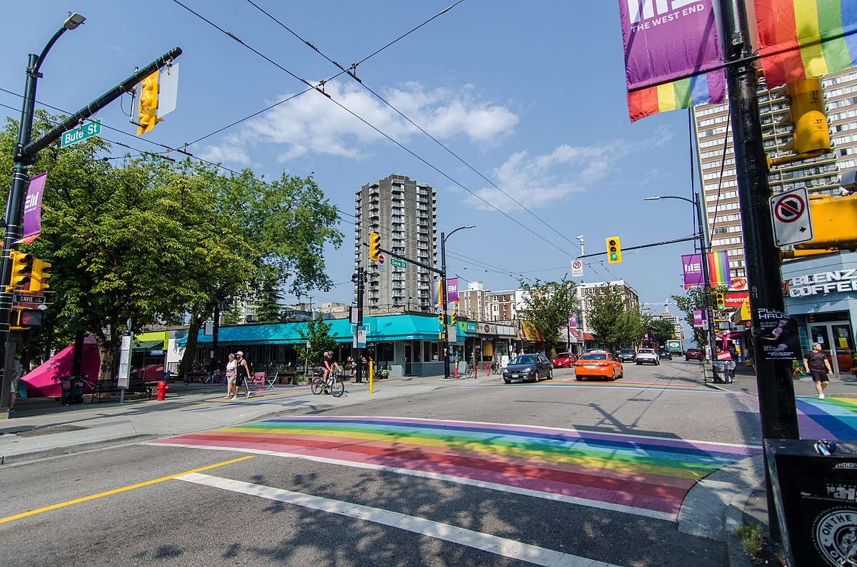 from Vivaan vancouver davie street hotel gay