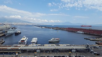 Day - Daytime image of the bay of Naples