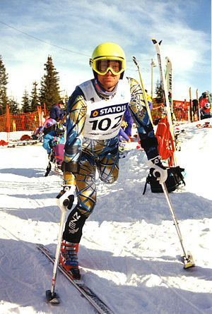 Australia at the 1988 Winter Paralympics - Michael Milton- Paralympic Australian Alpine skier