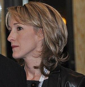 English: Deborah Feyerick, a journalist from CNN