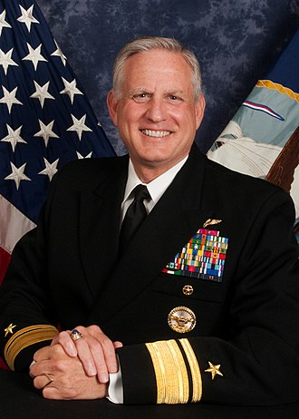 Military Sealift Command - Rear Admiral Dee L. Mewbourne, Commander of Military Sealift Command.