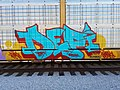 Def-i and DJ Kayote freight train holly roller autorack graffiti.jpg