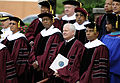 Defense.gov News Photo 100516-F-6655M-001 - Secretary of Defense Robert M. Gates stands with faculty members of Morehouse College in Atlanta Ga. during the college s 126th Commencement.jpg