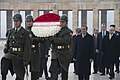 Defense.gov News Photo 111216-D-BW835-003 - Secretary of Defense Leon E. Panetta participates in a wreath laying ceremony at the Anitkabir Ataturk Mausoleum in Ankara Turkey on Dec. 16.jpg