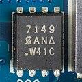 Dell E-Port II PR03X - board - Siliconix 7149-5485.jpg