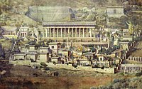 The Oracluean town of Pythia in 48 AD