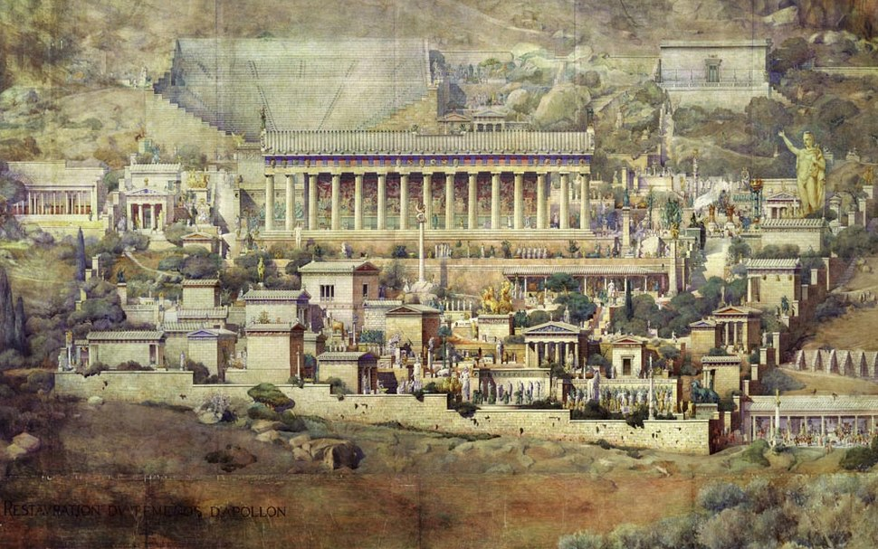 Delphi by Albert Tournaire