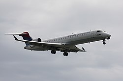 Bombardier CRJ700 der SkyWest Airlines im Dienst für Delta Connection