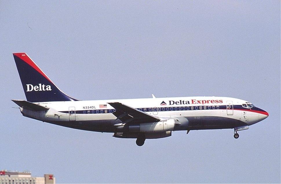 Delta Express Boeing 737-200 KvW