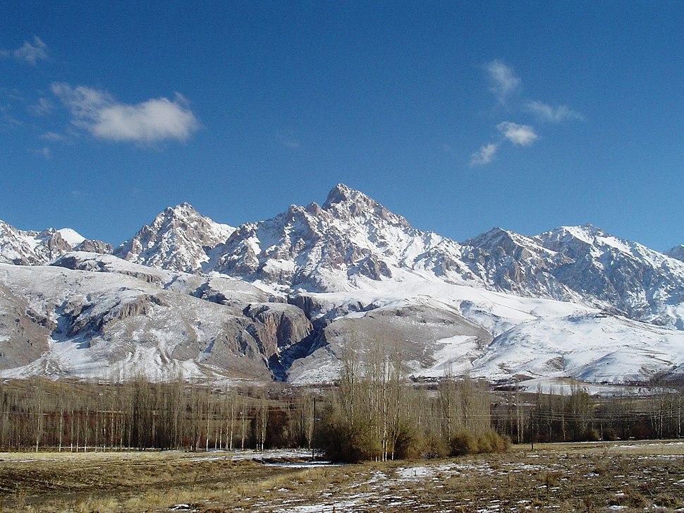 Demirkazik Crest of Aladag Mountains in Nigde Turkey