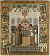 Deposition of the Robe (16-17 c., Russian museum).jpg