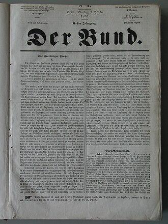 Der Bund - Der Bunds first edition.