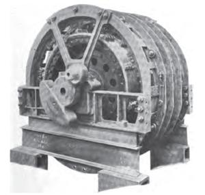 Repulsion motor - Image: Deri Repulsion Type Motor Midi E 3301
