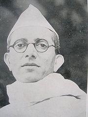 Morarji Desai in 1937, as Congress Home Minister of Bombay Presidency