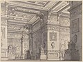 Design for a Stage Set?-Interior of a Stateroom with Four Tables Displaying Urns and Tabernacles. MET 53.521.5.jpg