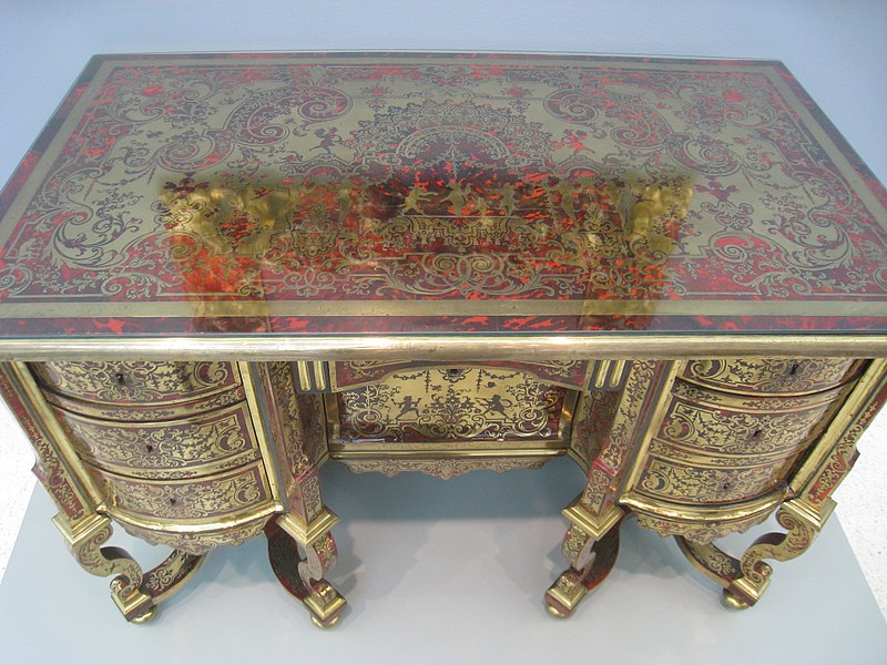 File Desk Andre Charles Boulle Or Circle C 1690 1700