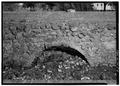 Detail view of single arch on SE side of aqueduct. - Canal (Irrigation) de Riego, Betances, Cabo Rojo Municipio, PR HAER PR,70-LAPAS,1-6.tif