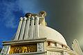 Dhauli Sanchi Stupa Peace pagoda,Bhubaneswar.JPG
