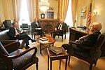 Dick Cheney meets with John Warner, John McCain, and Lindsey Graham.jpg