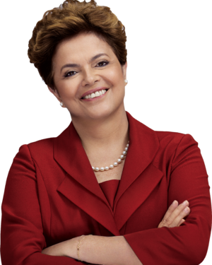 Brazilian presidential election, 2010 - Image: Dilma Rousseff 2010 Transparent