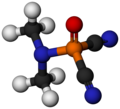 Dimethylamidophosphoric dicyanide-3D-balls-by-AHRLS-2011.png