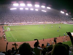 Eternal derby (Croatia) - Eternal Derby at Stadion Poljud in 2006