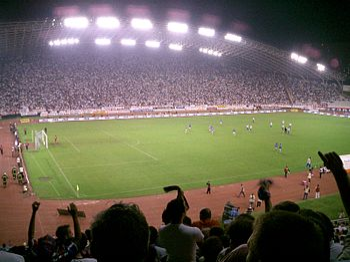 Dinamo Zagreb against Hajduk Split 2