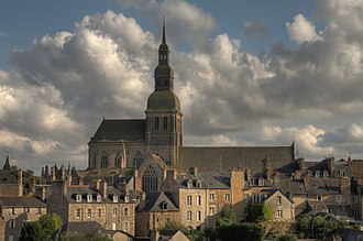 Dinan - Basilica of St Saviour