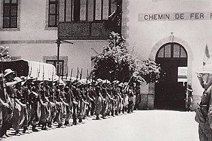 Le Camicie nere prendono possesso della stazione di Dire Daua nel maggio  1936 f49129f78f38