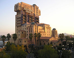 The Twilight Zone Tower of Terror - Tower of Terror at Disney California Adventure in 2006.