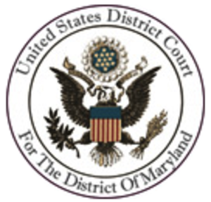 Wikimedia Foundation v. NSA - Image: District Court Maryland Seal