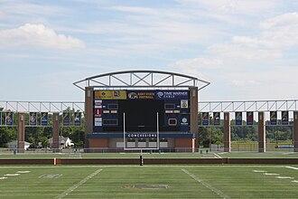 Dix Stadium - Image: Dix Scoreboard
