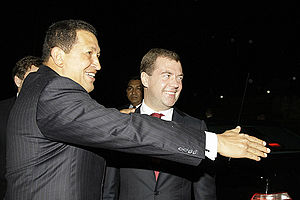 Dmitry Medvedev in Venezuela 27 November 2008-3