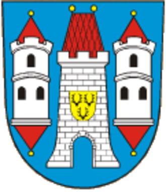 Dobřany (Plzeň-South District) - Image: Dobřany (Stod, CZE) coat of arms