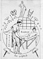 Docteur Olivier Eugene ex libris, Bookplates Wellcome L0017463 (cropped).jpg