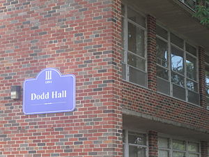 Bill Dodd - Dodd Hall at Northwestern State University in Natchitoches.