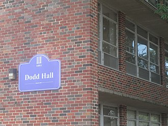 Bill Dodd - Dodd Hall at Northwestern State University in Natchitoches