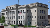 Dodge County, Nebraska courthouse from NE 1.JPG