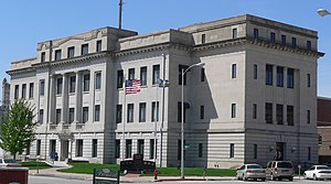 Dodge County, Nebraska - Image: Dodge County, Nebraska courthouse from NE 1