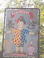Doll's Museum. Sign. - Visszhang St, Tihany.JPG