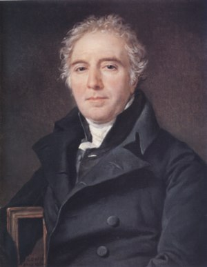 Dominique-Vincent Ramel-Nogaret - Portrait of Ramel in 1820 by Jacques-Louis David