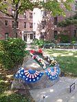 Dorie Miller Apartments with Memorial - Corona NY - Memorial Day 2015.jpg