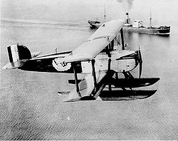 "Douglas World Cruiser ""Chicago"" als Wasserflugzeugvariante"