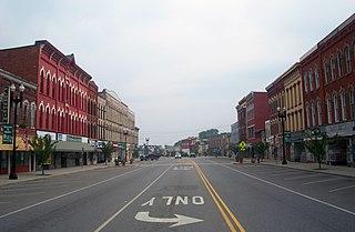 Main Street Historic District (Medina, New York) historic district in Medina, New York