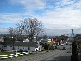 Langley, Washington - Downtown Langley from Second Street