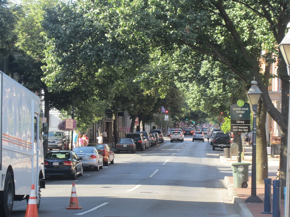 Downtown view of Frederick, MD IMG 4699