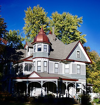 National Register of Historic Places listings in Chariton County, Missouri - Image: Dr. J.D. Brummell House (407 S. Broadway)